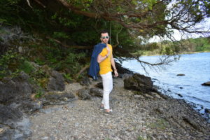 Yellow T-Shirt and Blazer