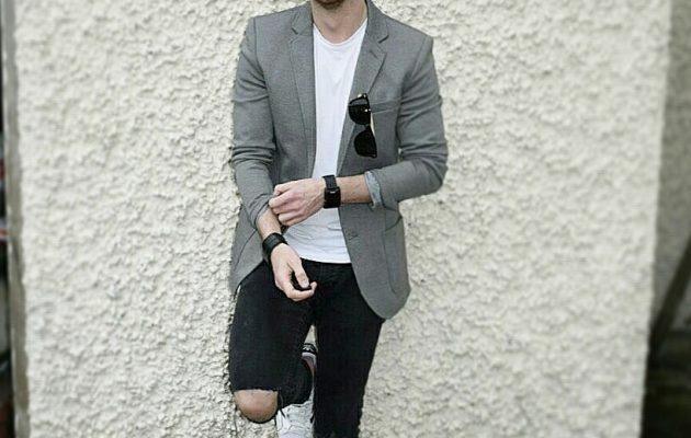 Every Man Needs A Grey Blazer