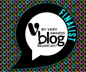 V for Very Blog Awards 2017 Finalist
