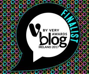 V for Very Blog Awards 2017 Finalist