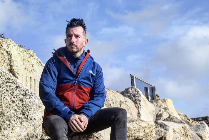 Berghaus Fellmaster Jacket on rocks