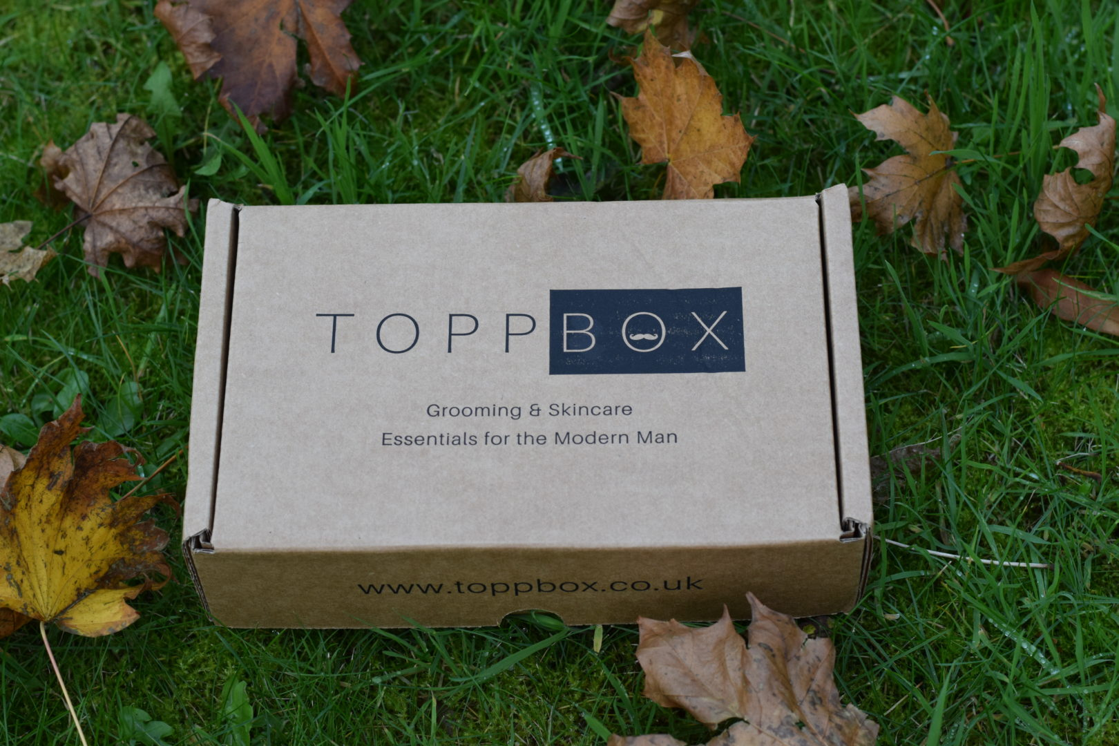 TOPPBOX Mens Grooming and Skincare Box
