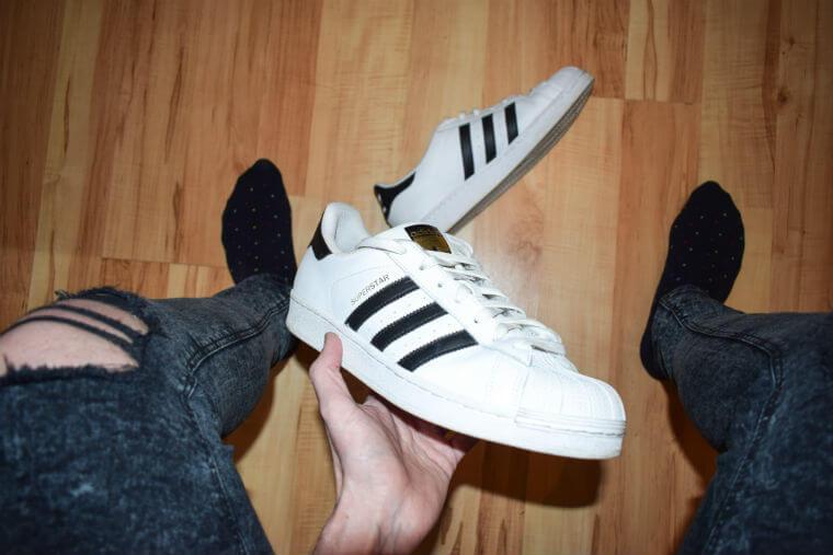 Adidas Superstars and Ben Sherman Socks