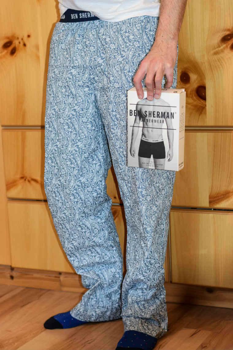Ben Sherman Paisley Print Lounge Pants