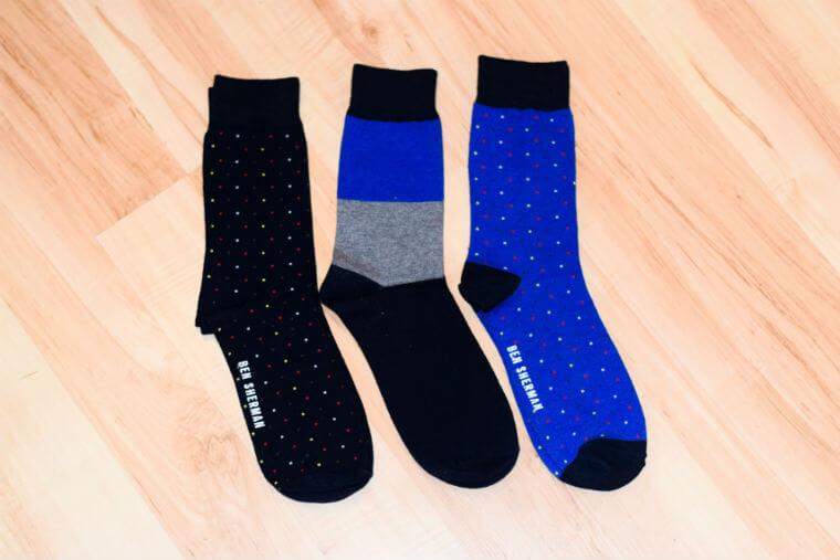 Body branded Ben Sherman Socks flatlay