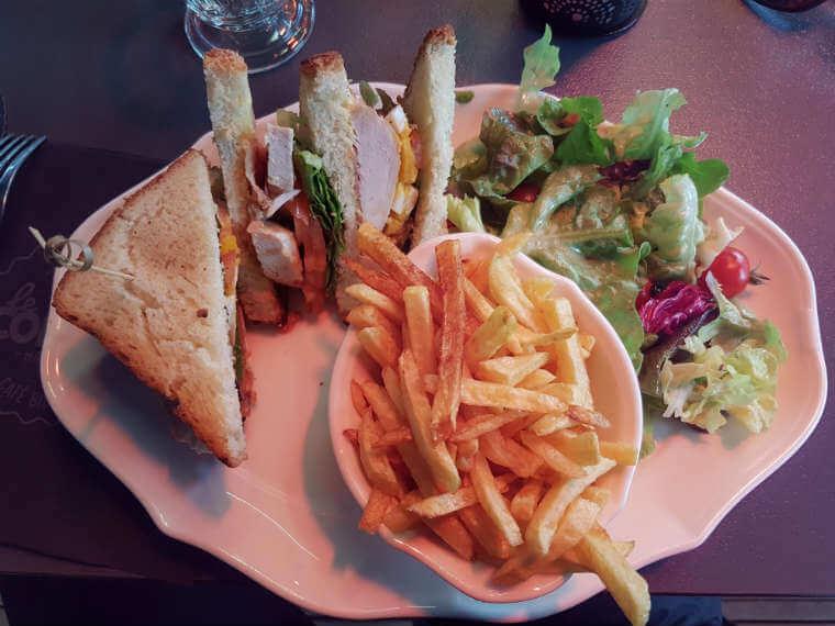 Le Colibri Club Sandwich