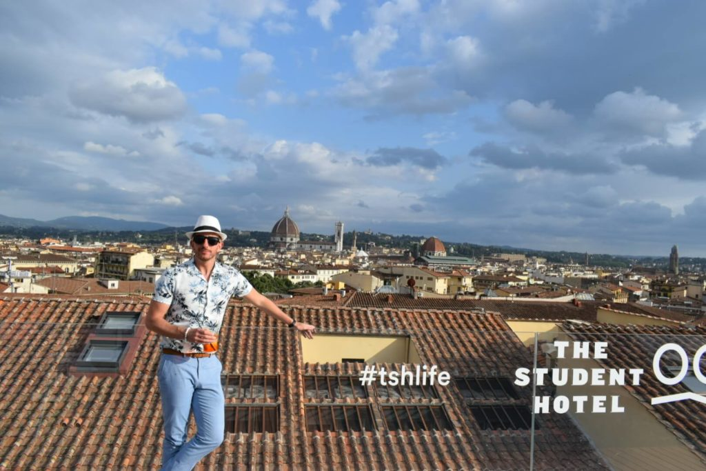 Pitti Immagine The Student Hotel Rooftop