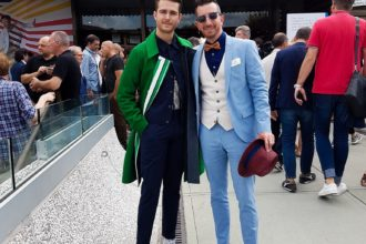 Pitti Uomo Adam Gallagher