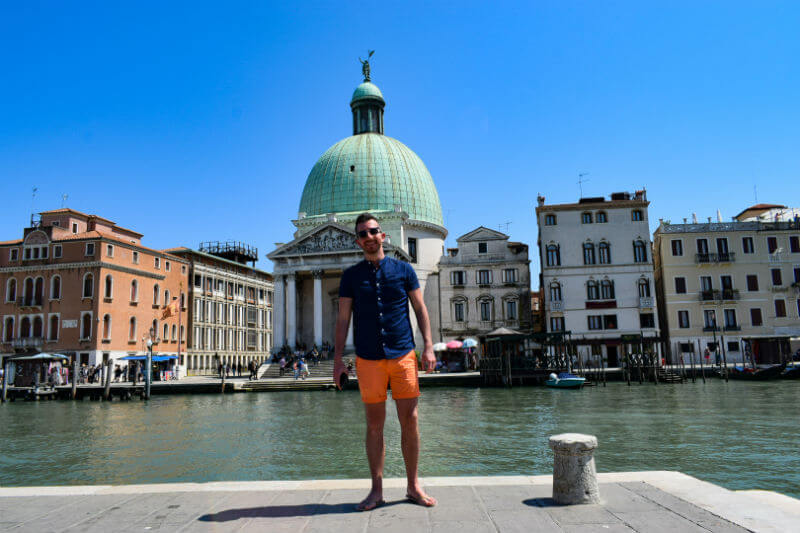 Summer Style orange shorts venezia