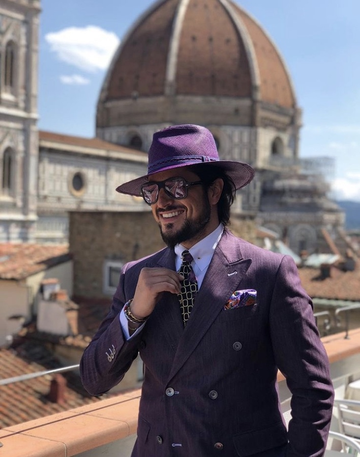 Pitti Uomo Double Breasted Blazer
