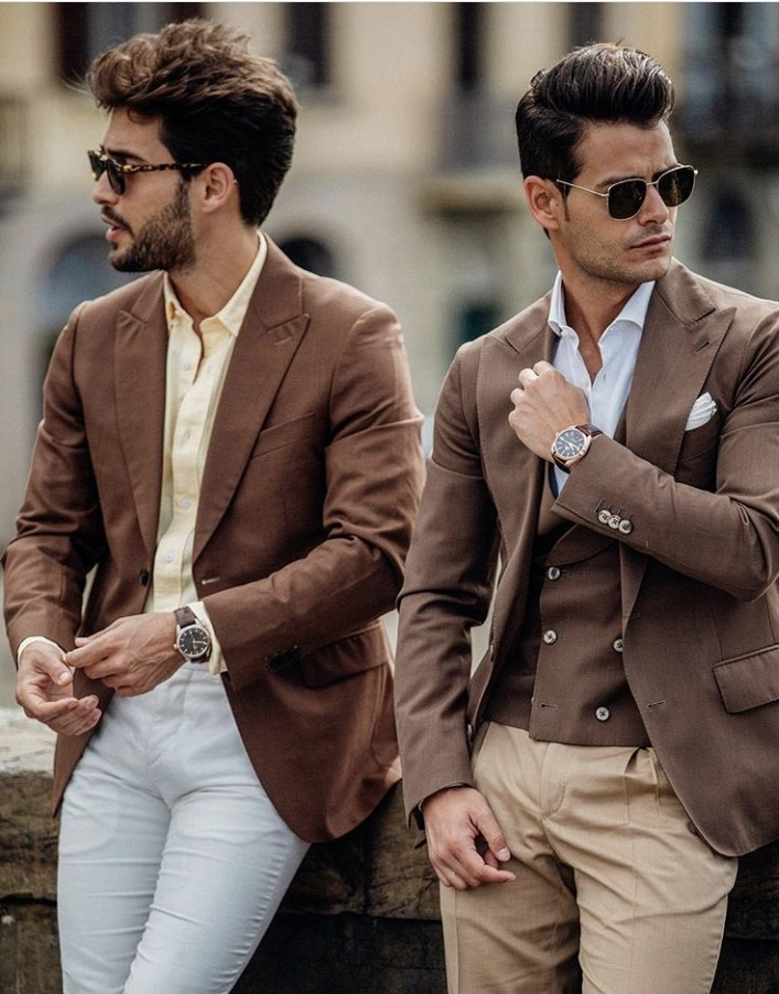 Pitti Uomo Brown Suits
