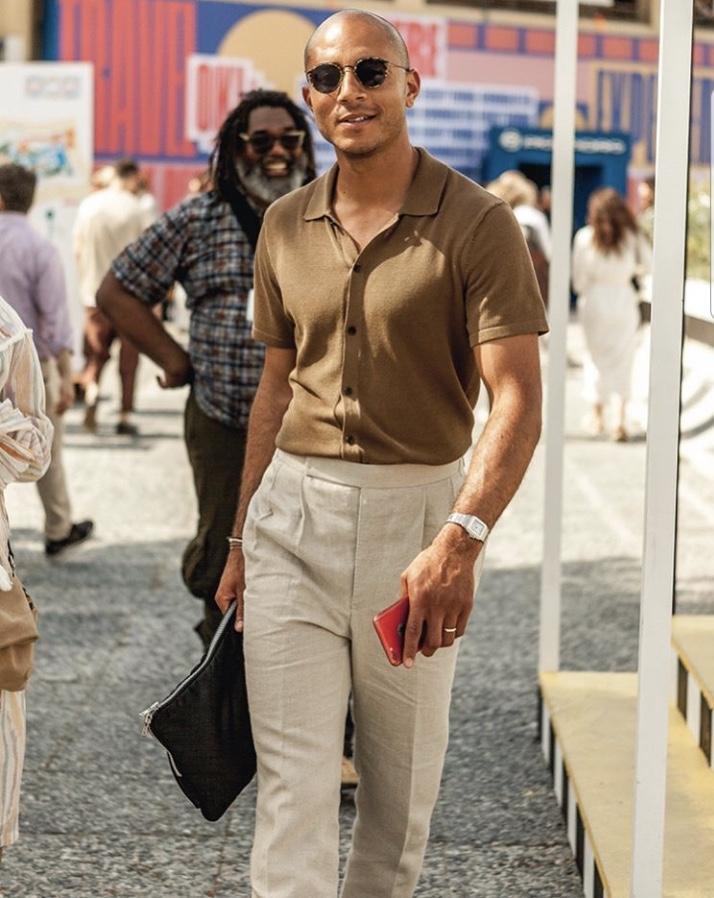 Pitti Uomo Brown Shirt