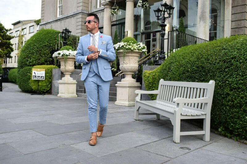 Summer Suit Strutting in style
