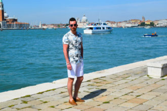 Summer style print shirt venice