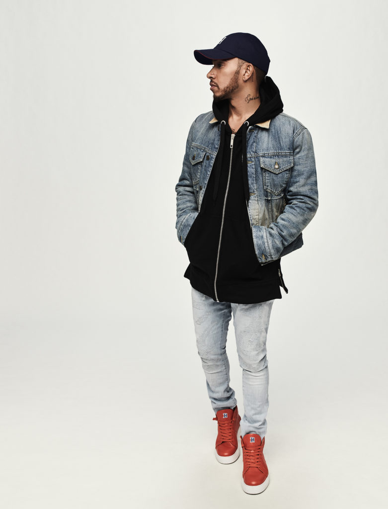 TommyXLewis double denim style