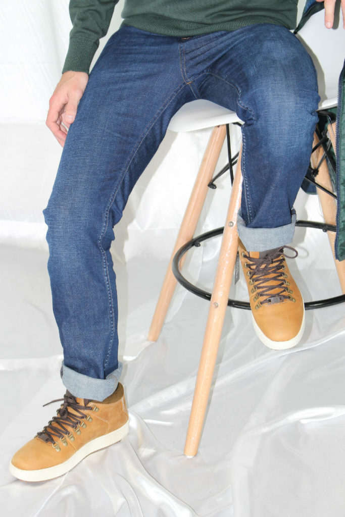 Timberland jeans and chukka boots